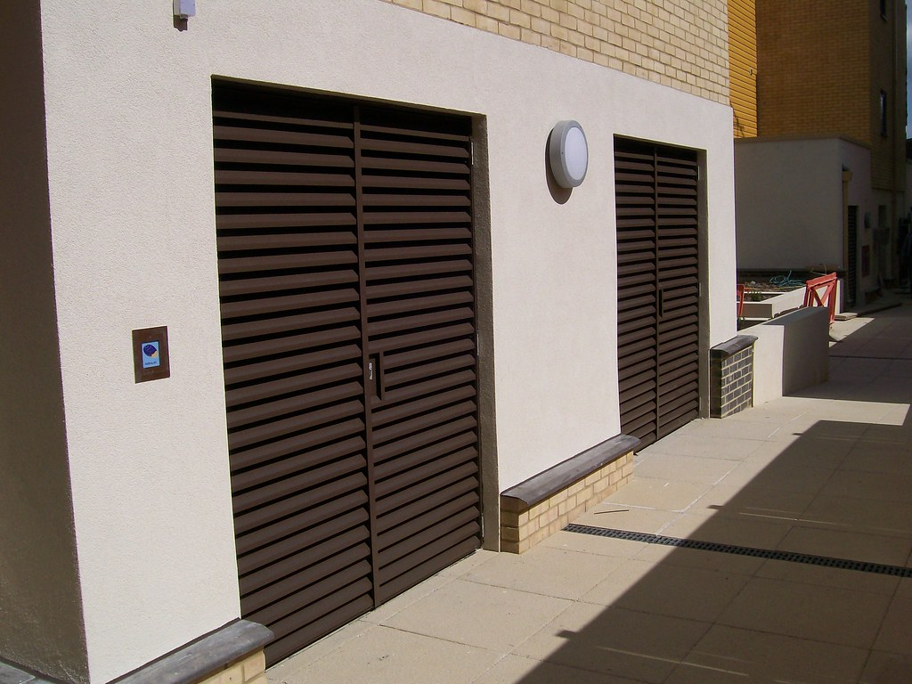 External Louvred Plantroom Doors Nationwide Louvre