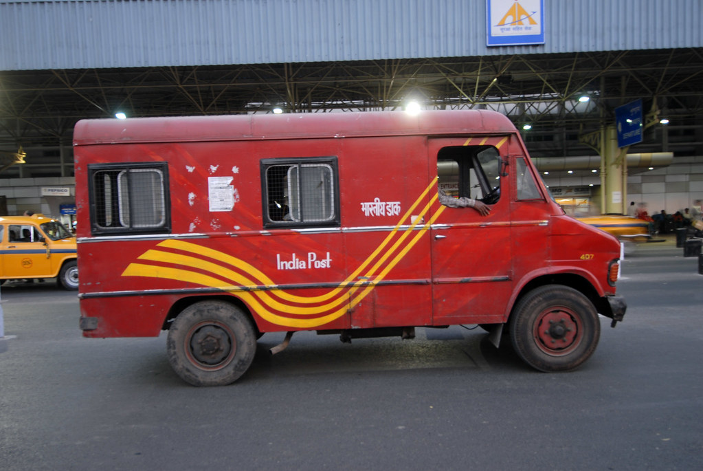 bjn 5127 india post mail truck en route so long kuala lu flickr. Black Bedroom Furniture Sets. Home Design Ideas