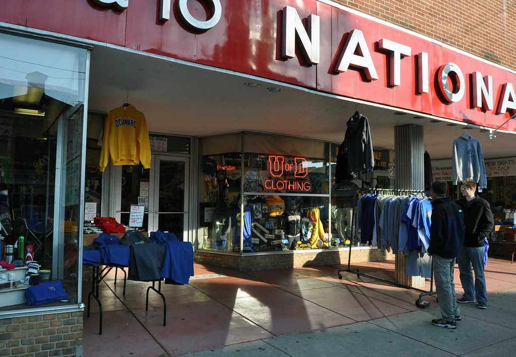 Clothing stores on main street newark de