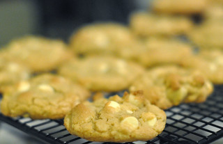 White Chocolate Chip Macadamia Nut Cookies | by Kristi @ TCRB