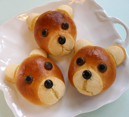 Teddy Bear Rolls Melon Bread I Made These Darling