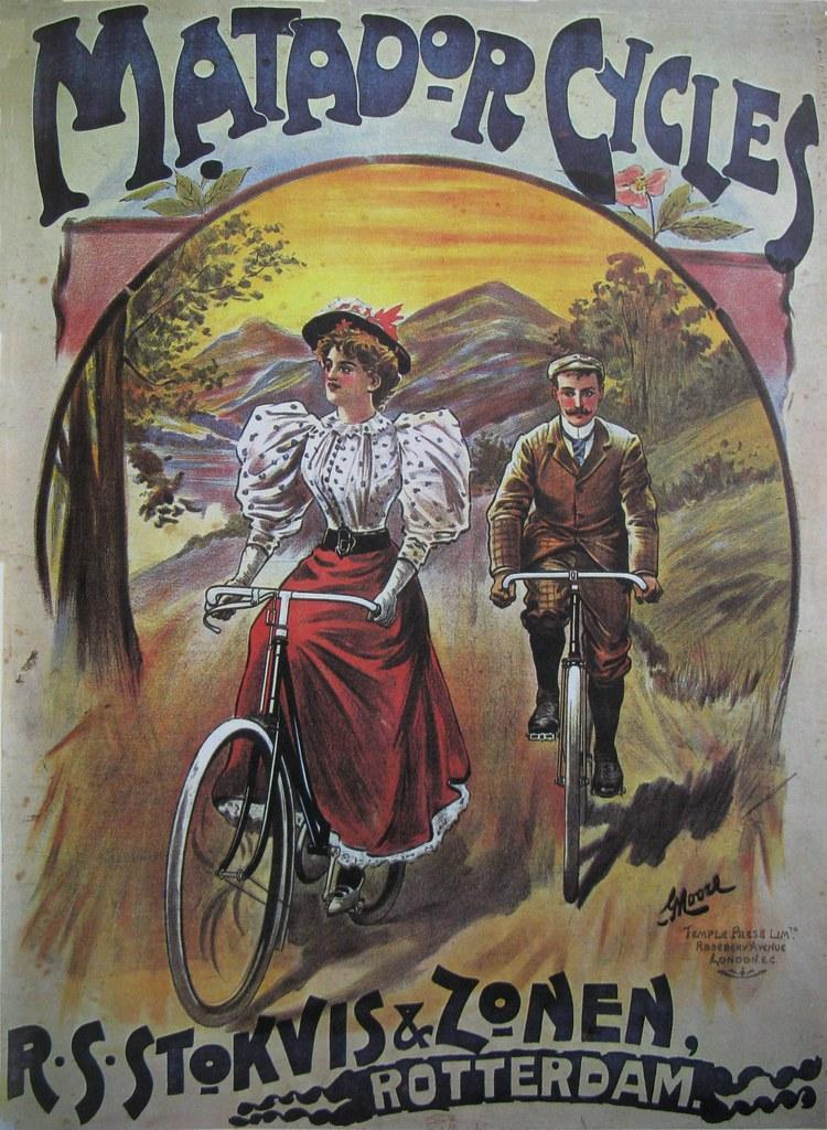Vintage Bicycle Posters: Matador Cycles