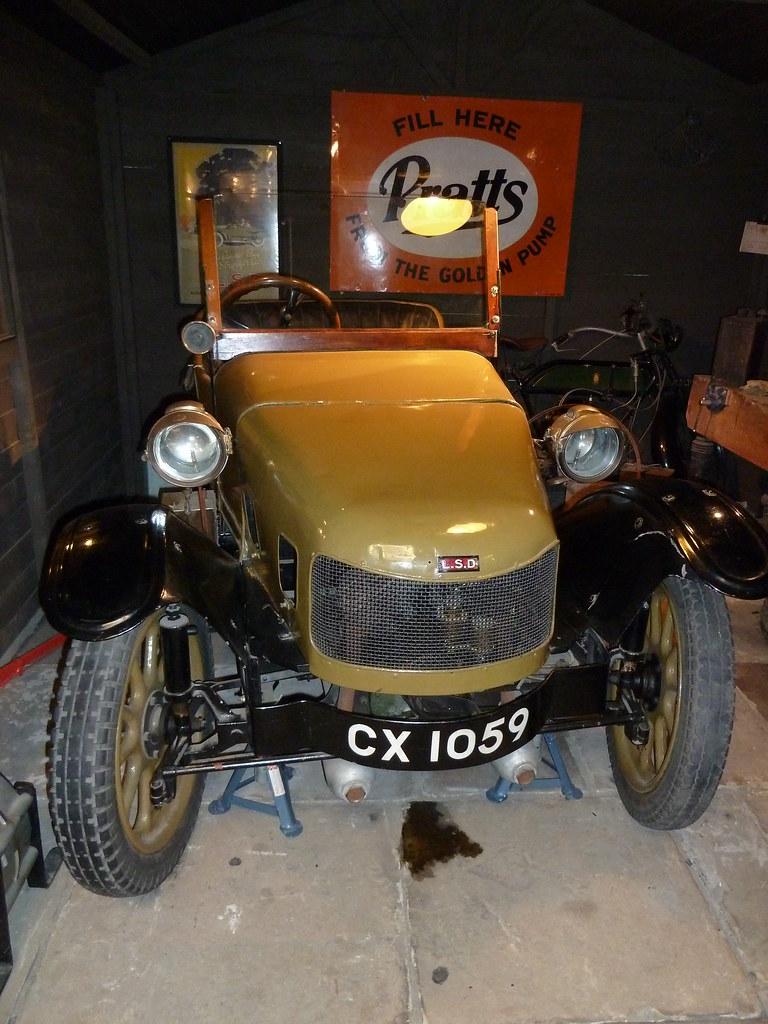 Lsd 3 Wheeler Car Tolson Museum Huddersfield Yorkshire