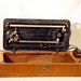 Singer Sewing Machine Model 66 Vintage Red Eye In Perfect Working Order