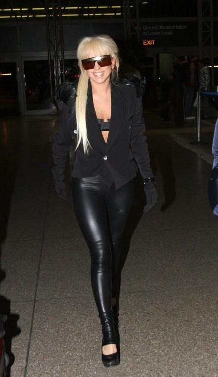 Lady Gaga in liquid la... Lady Gaga