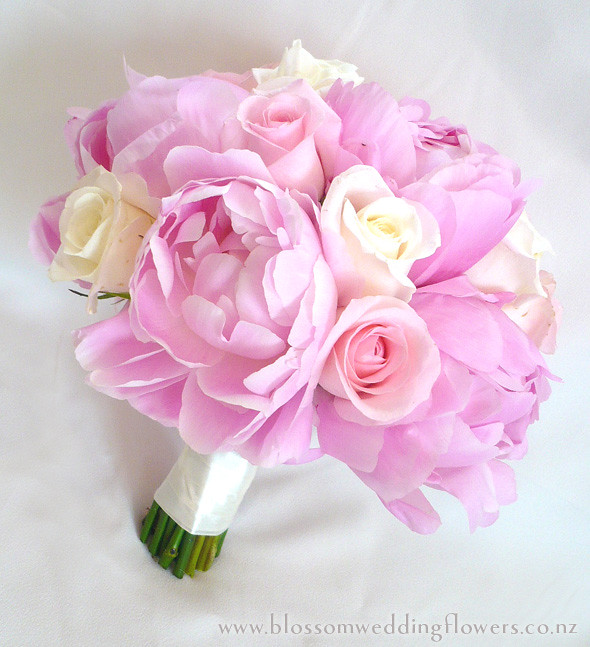 pink flower bouquets for weddings 2 pink peony bouquet pale pink peony and bridal 6580