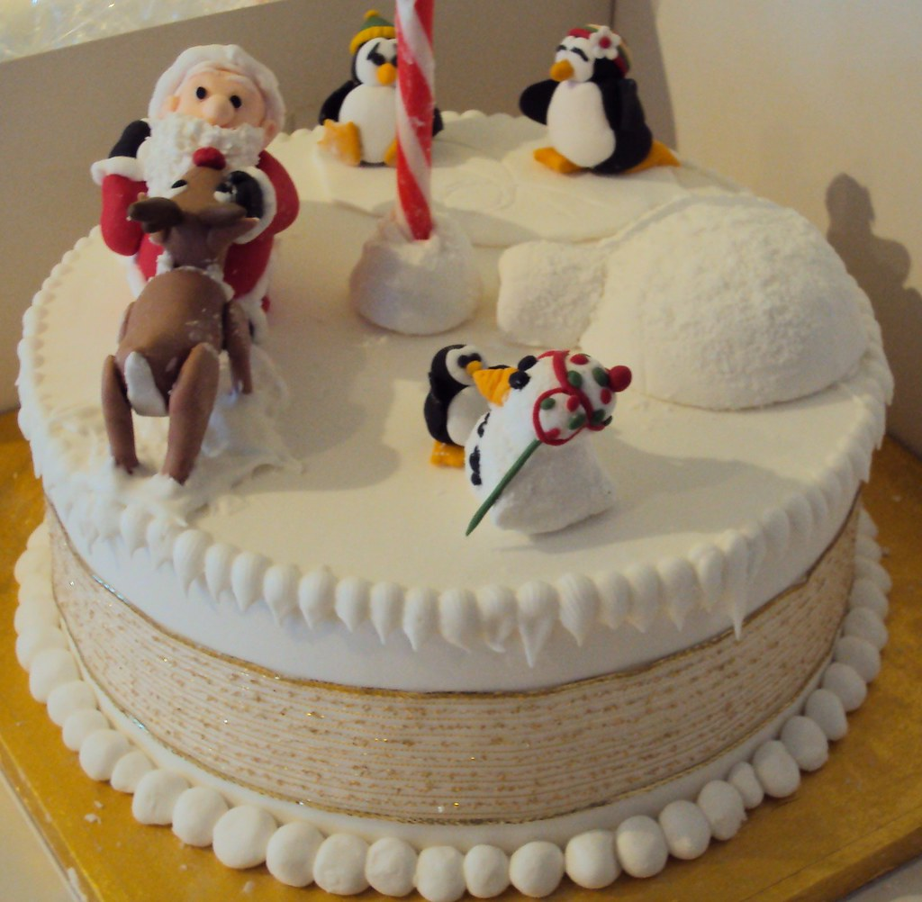 Novelty Christmas Cake Images : Novelty Christmas Cake Peachtree Cakes Flickr