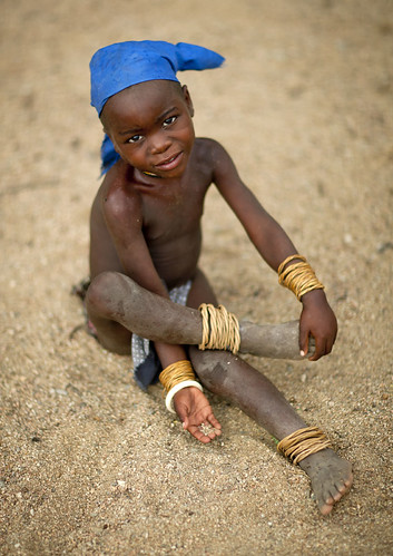 Mucubal girl - Angola | by Eric Lafforgue