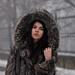 Fur in the winter