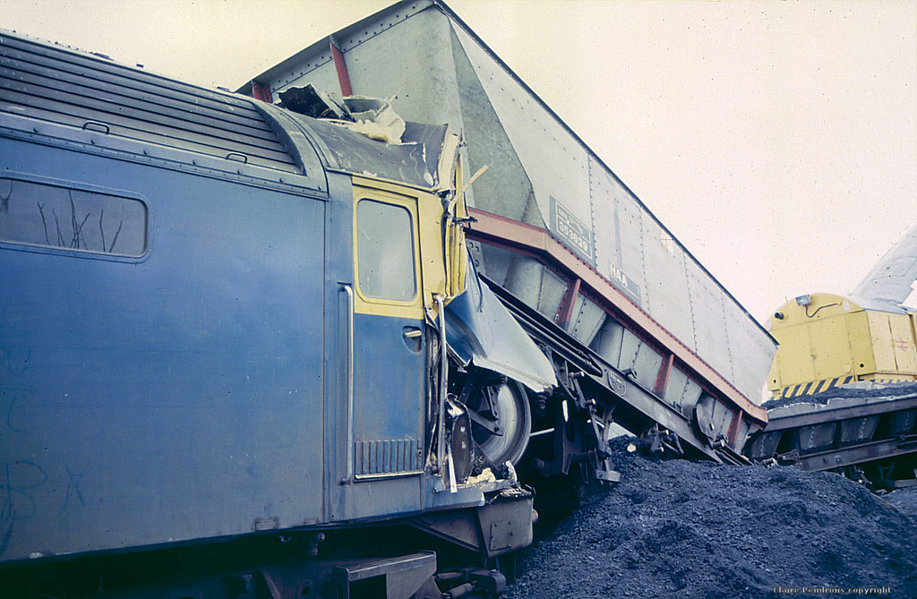 47324 Crashed At Oxley Junction Wolverhampton March 1985