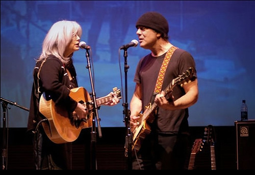 Emmylou Harris and Daniel Lanois | by earbender