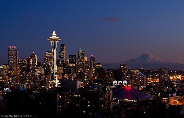 Mt. Rainier Seattle