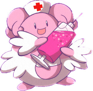Blissey Nurse Gilberto Teles Toxicsquall Flickr