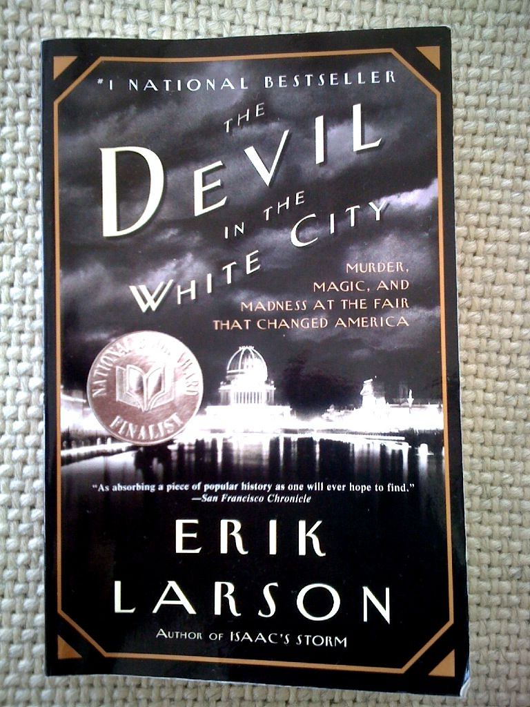 the devil in the white city by erik larson essay Watch video for his next film he and martin scorsese are re-teaming for their sixth collaboration on the devil in the white city,  in an essay on holmes in  to larson's.