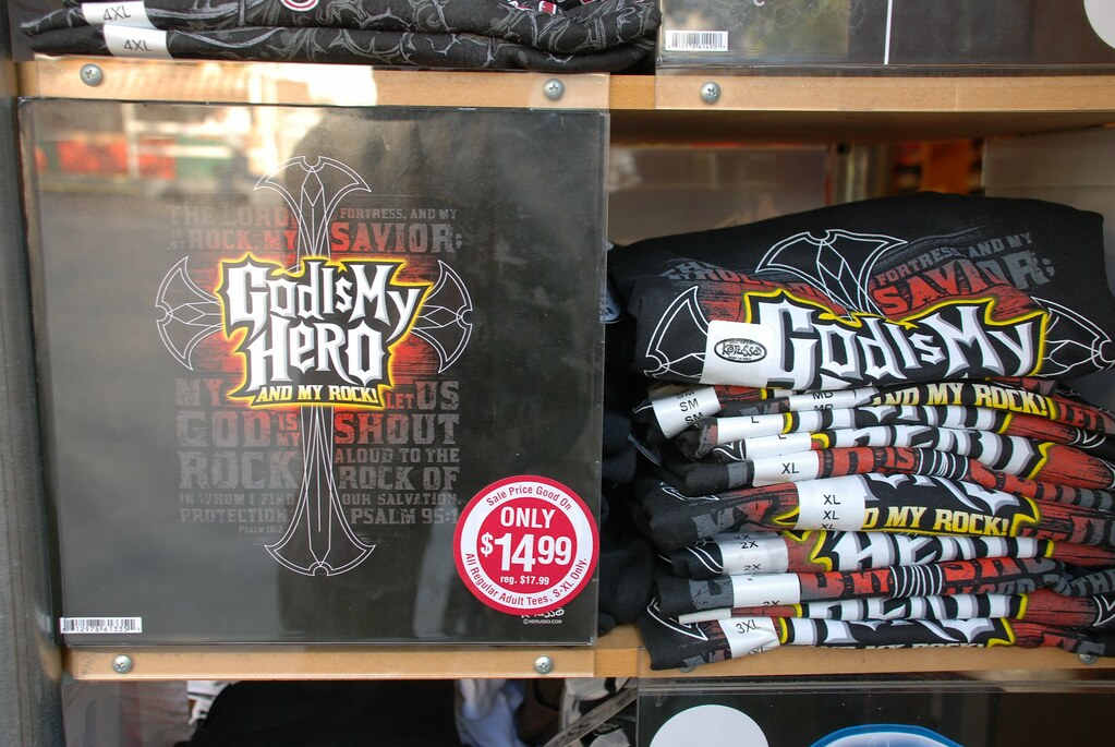 God Is My Hero T Shirt For Sale At Dollywood Joe
