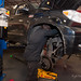 Installation of Fox Racing coilovers on 2010 Toyota Tundra at Portland Speed Industries