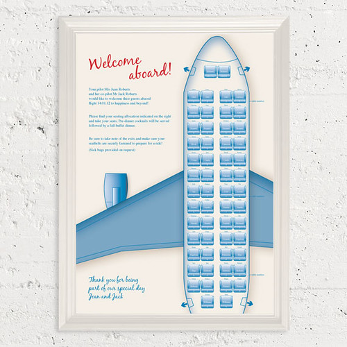 Retro Plane Seating Chart Flickr Photo Sharing