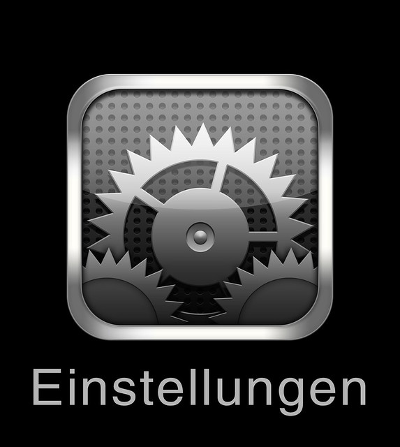iphone settings icon high resolution iphone icon einstellungen settings 3256