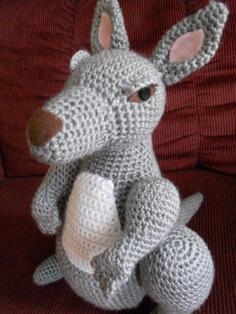 Amigurumi Kangaroo : Amigurumi Kangaroo Flickr - Photo Sharing!