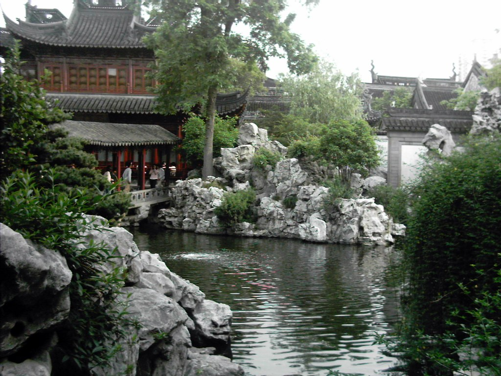 Yu Yuan Temple and Shanghai Garden‎, Shanghai, China