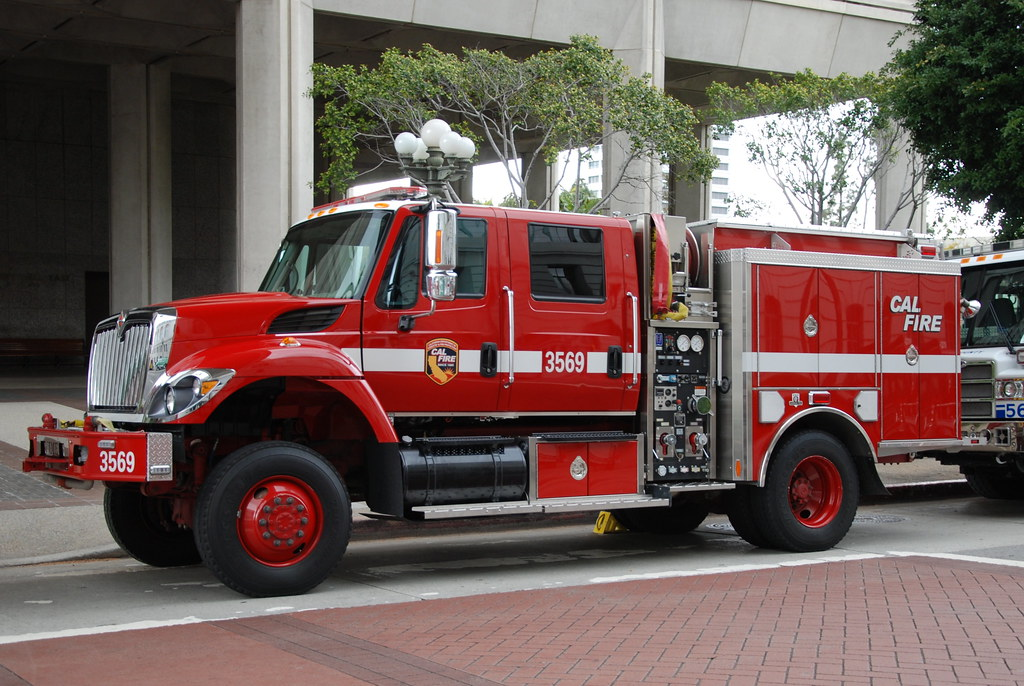 Cal Fire International Fire Truck Type Iii Engine 3569