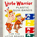 Rexall Little Warrior Plastic Quik-Bands, 1950's
