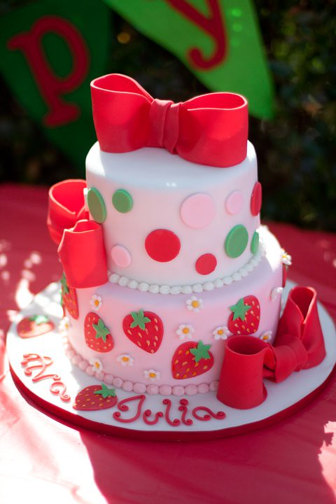 Strawberry Shortcake Birthday Cake My Friend Asked Me To