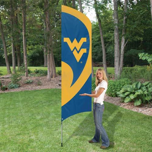 West Virginia Tall Feather Flag