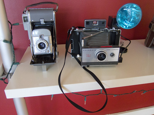 Polaroid Cameras at Instagram HQ | by Scott Beale