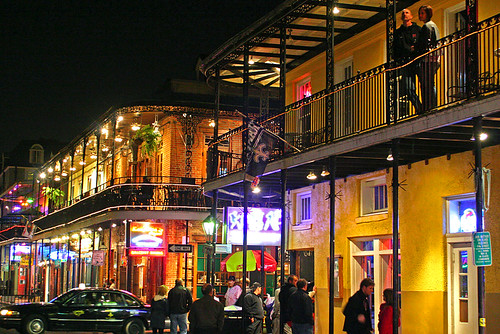 things to do on bourbon street