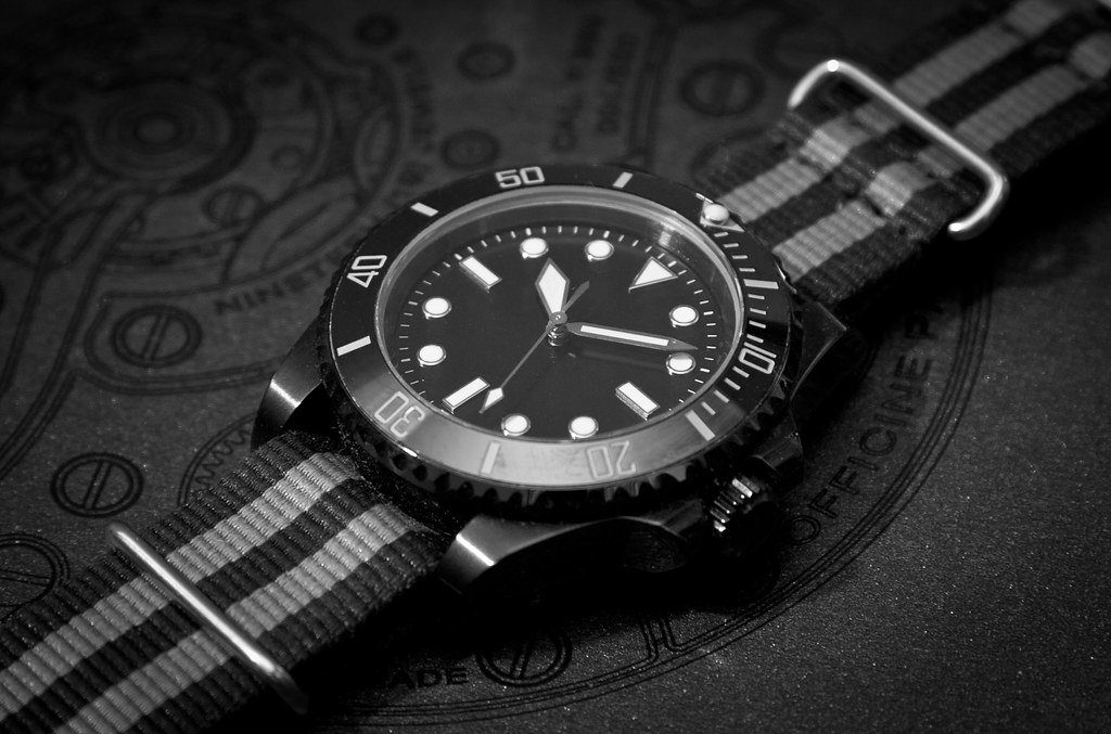 Rolex 5513 Inspired Modern Pvd Milsub Watch Started Out