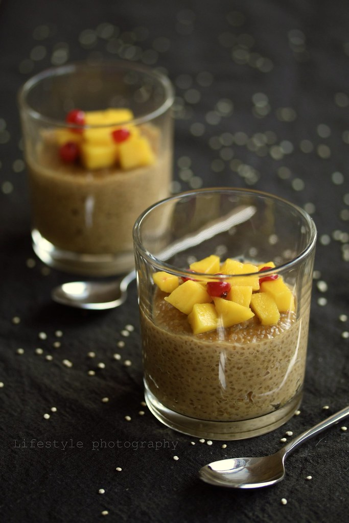 Vegan quinoa pudding with mango | Ina Todoran | Flickr