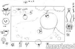 sketch for bento #55: LocoRoco
