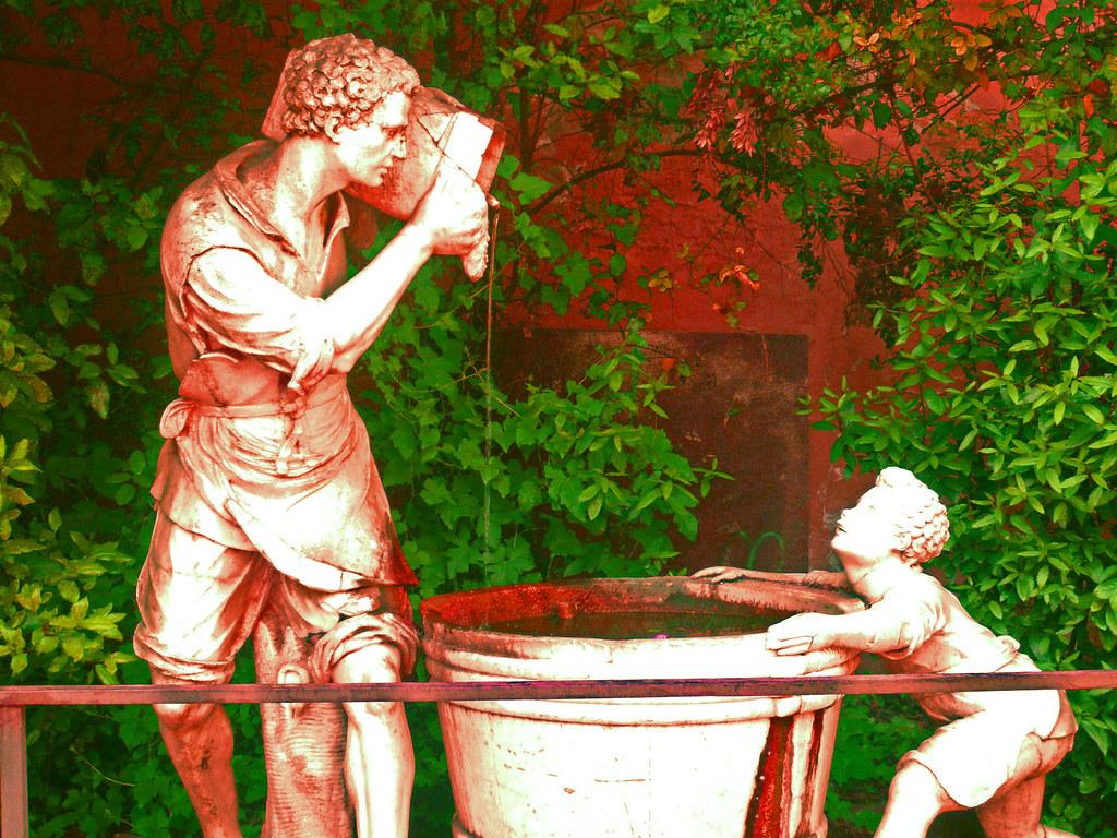 Firenze giardino di boboli fontanella verso l 39 ingresso di for Giardino 3d gratis italiano