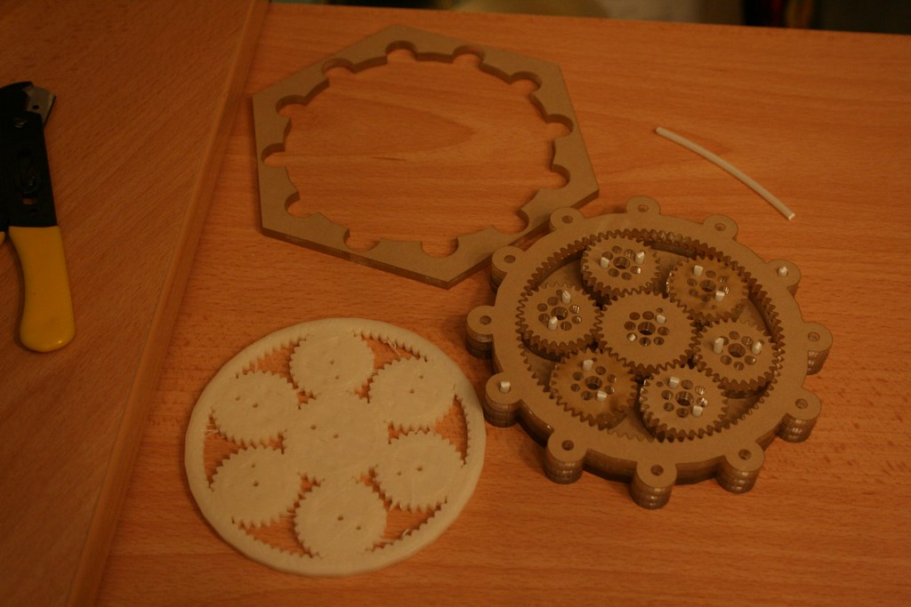 First Planetary Gear Test Laser Cut - IMG_5813 | First ...