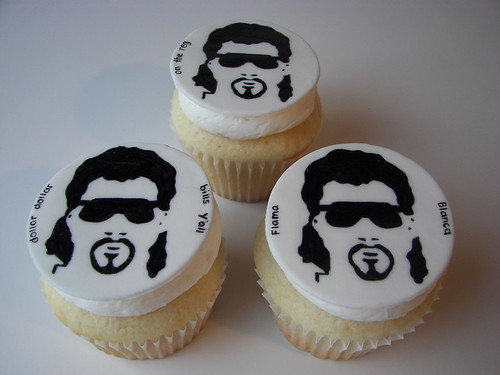 Eastbound and Down Cupcakes | by death by cupcake