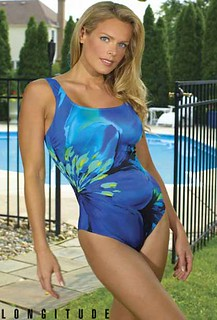 Slimming & Elegant Fiesta Tank Swimsuit by Longitude® | by swimsuitsforall