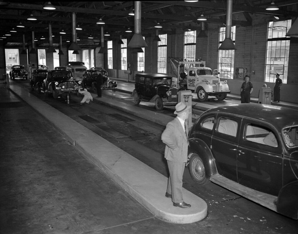 Motor Vehicle Inspection Facility 1948 The Provincial