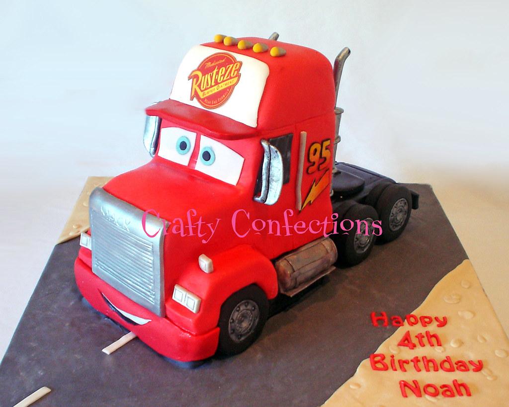 Mack Truck Cake Www Craftyconfections Ie Crafty