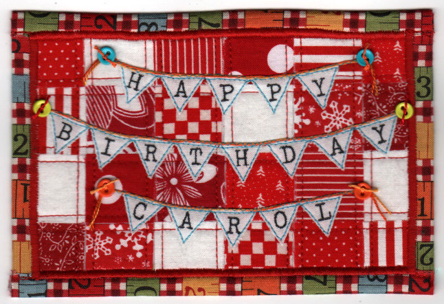 happy birthday carol postcard guess who 39 s birthday is marc flickr. Black Bedroom Furniture Sets. Home Design Ideas
