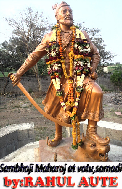 SAMBHAJI RAJE on3.3.11 by Rahul Aute