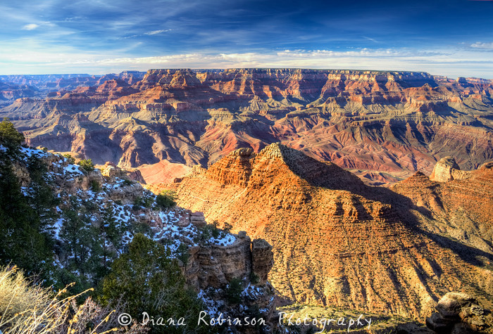 Winter, a grand time to see the Grand Canyon. For obvious weather reasons, December is the third least popular month to visit, after January and February. July, when the average temperature is.