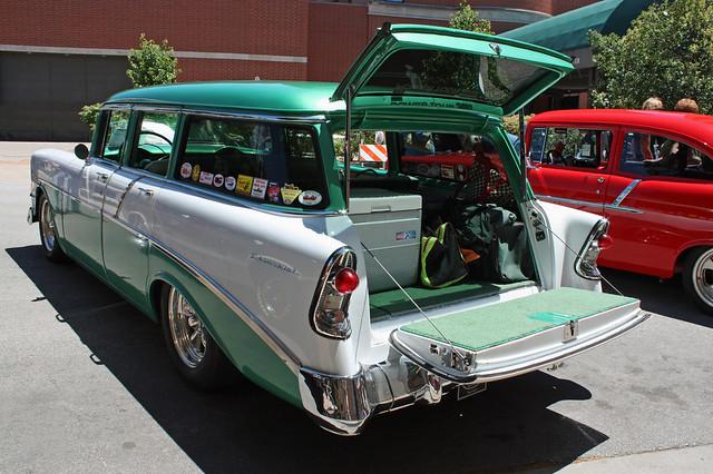 1956 chevrolet 210 townsman 4 door station wagon 4 of 4 for 1956 chevy wagon 4 door