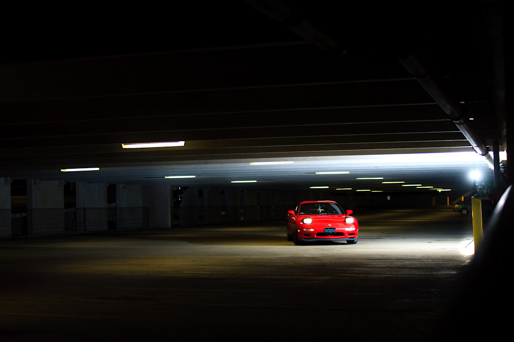1993 Mazda Rx7 R1 Found A Parking Garage At The Lowell
