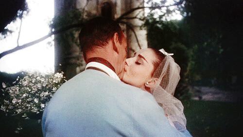 wedding-dress-kiss gif...