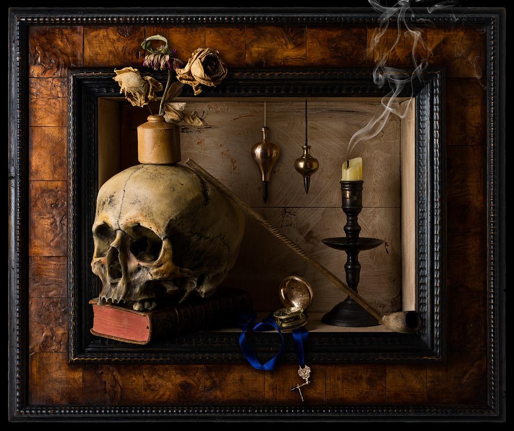 Still Life Vanitas Framed Kevin Best Flickr