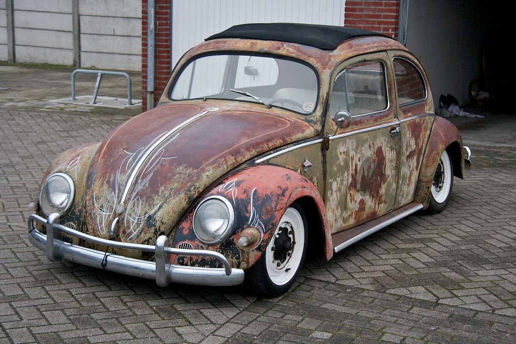Volkswagen 1956 Ragtop Oval Beetle A Volkswagen 1956