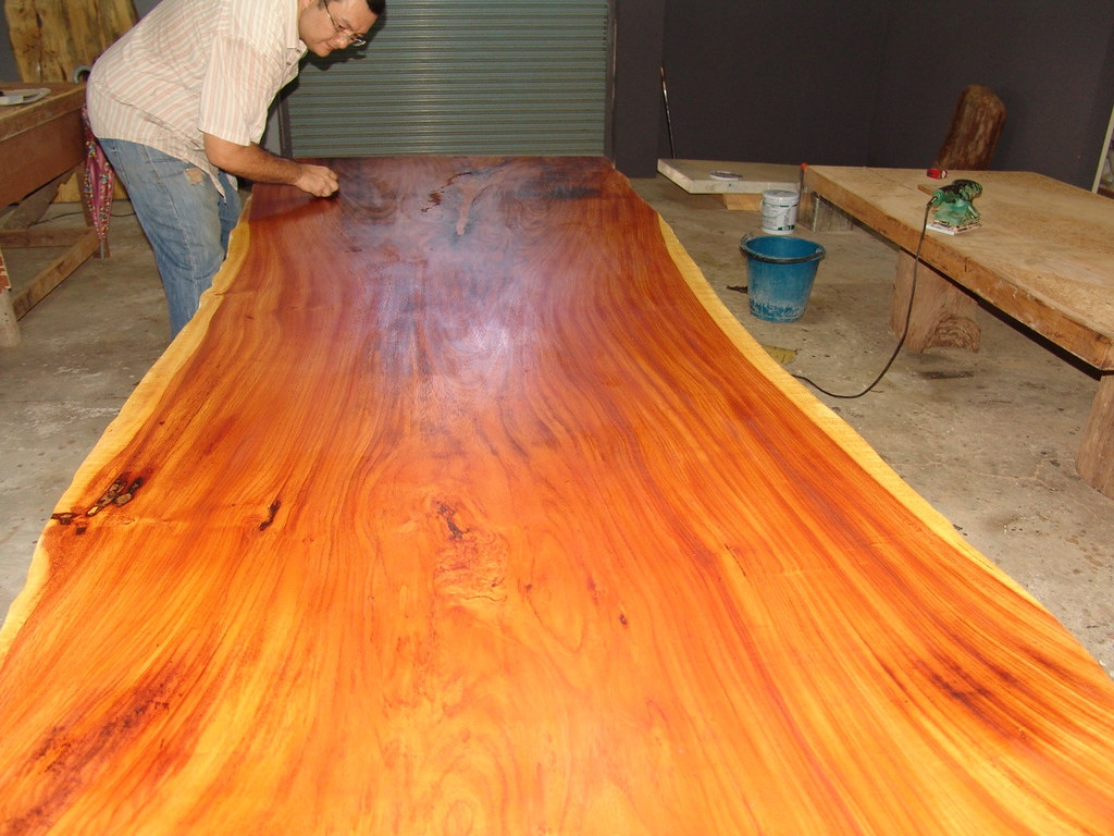 Hand Rubbed Oil Finish Wood Hand Rubbed Teak Oil