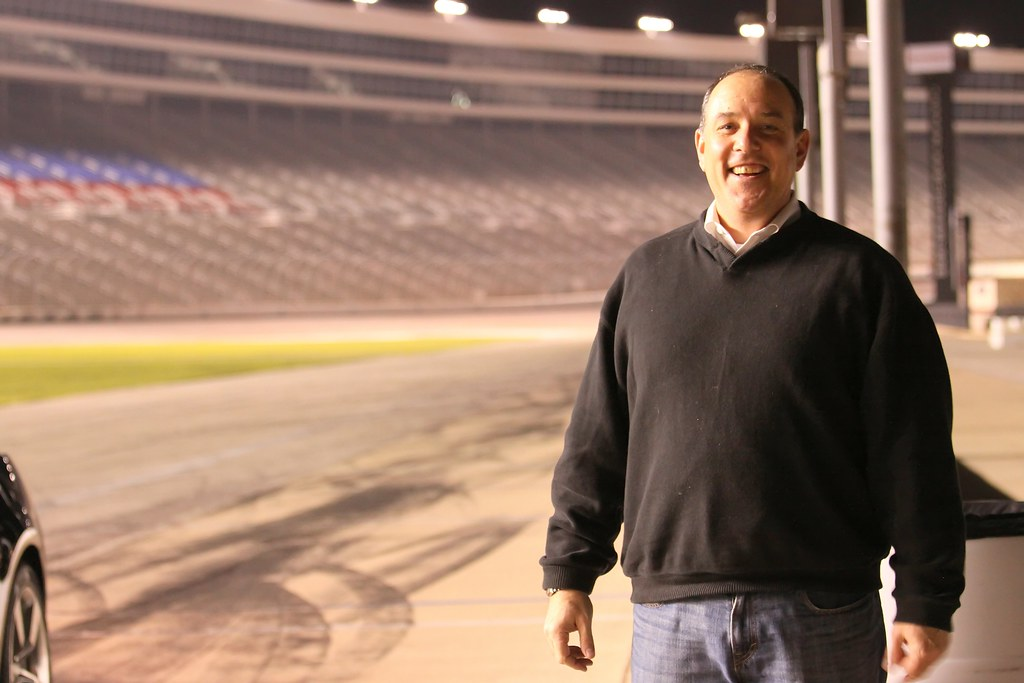 Texas Motor Speedway Photo From A Ride Along Event At