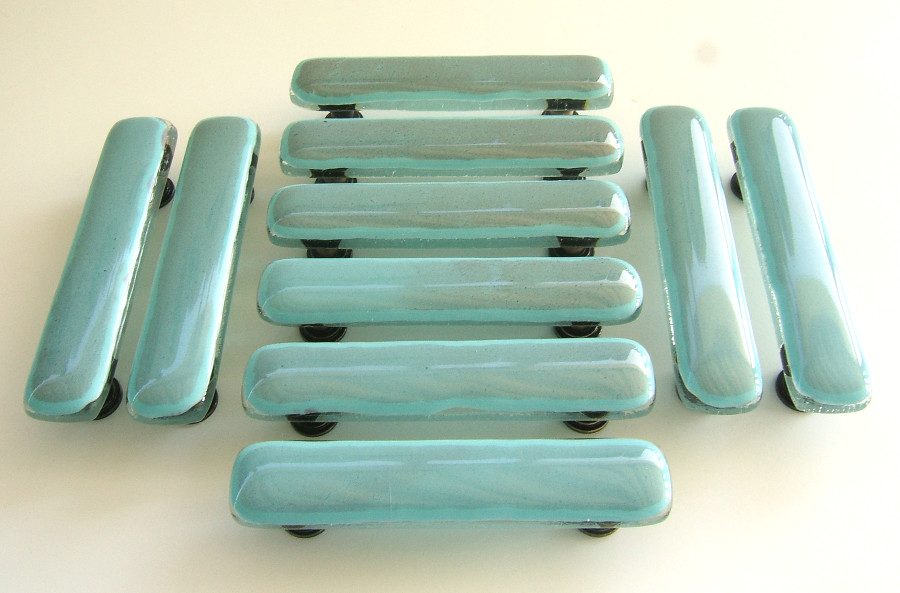 Turquoise copper cabinet handles glass cabinet pulls in for Turquoise cabinet pulls